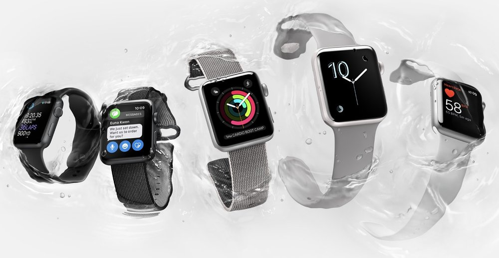 Apple Watch Series 2 got a lot of things right compared to the first generation Apple Watch (Image source: Apple.com)