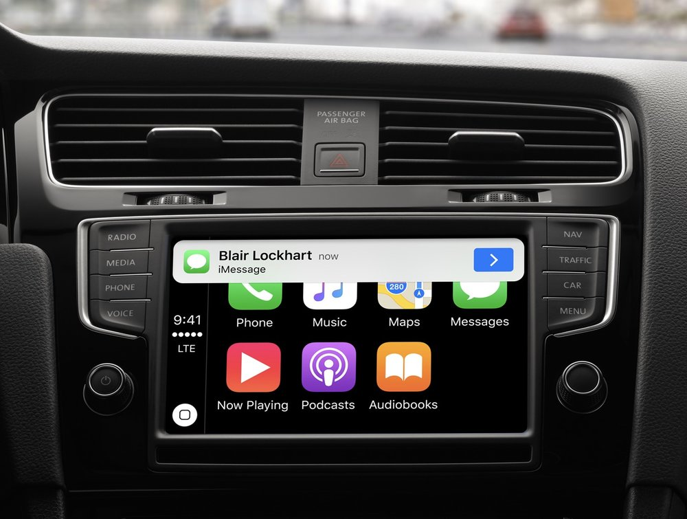 As of now CarPlay is the only contribution Apple has made to the automobile industry, but that is apparently going to change big time ( Image source: Apple.com)