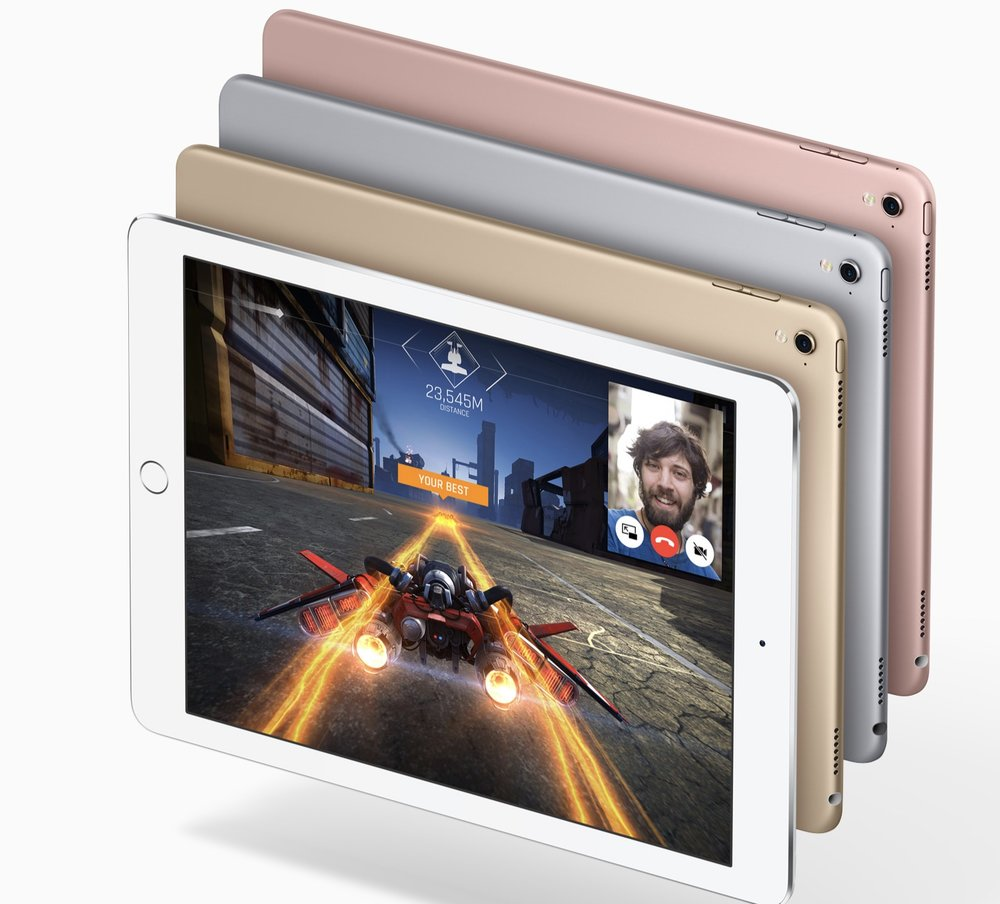 "My iPad Pro hands on review is based on the 9.7"" 2016 128GB model (Image Source: Apple.com)"
