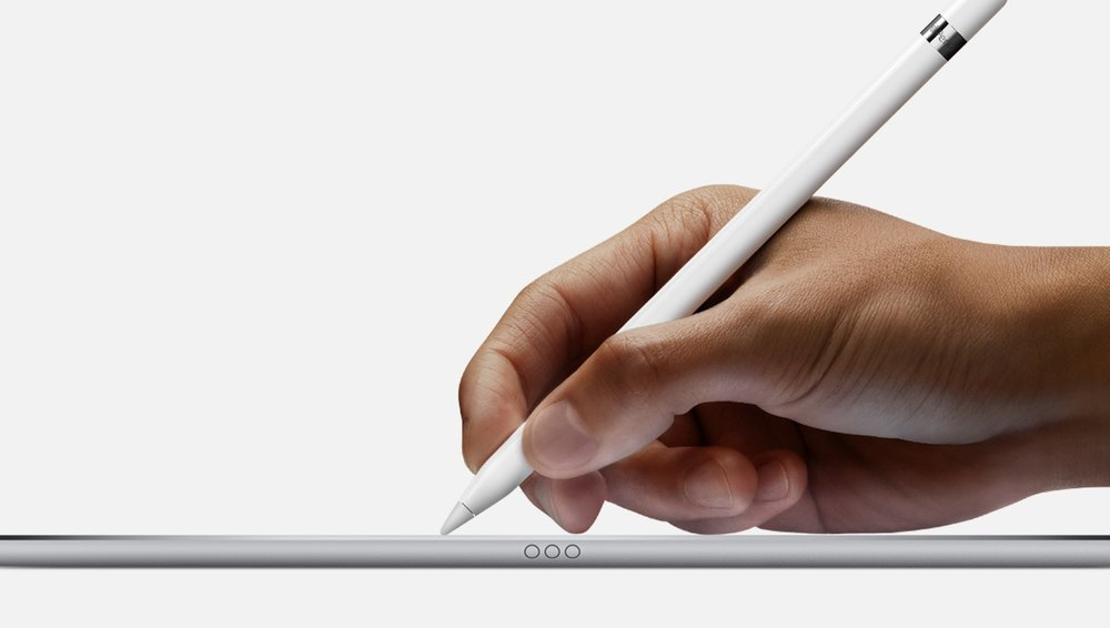 I think I bought the $600 plus iPad Pro mainly for writing with Apple pencil that only costs $99 (Image Source: Apple.com)
