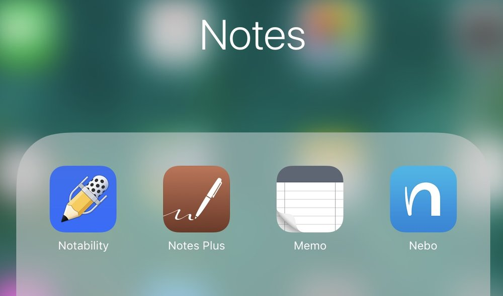 I have tried quite a few Apps to gauge the Apple Pencil handwriting recognition capabilities on the iPad Pro, like Notability,Memo,Nebo and Notes Plus to name a few.