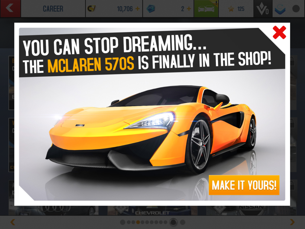 There are tons of promotional pop ups that try to convince you to spend more money in in-App purchases