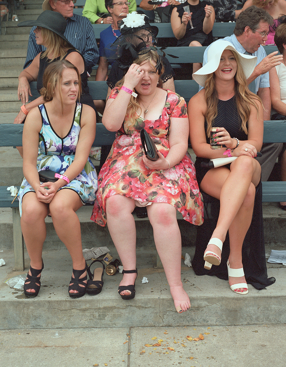 Sore foot; Albury Cup, Albury, NSW; 2014