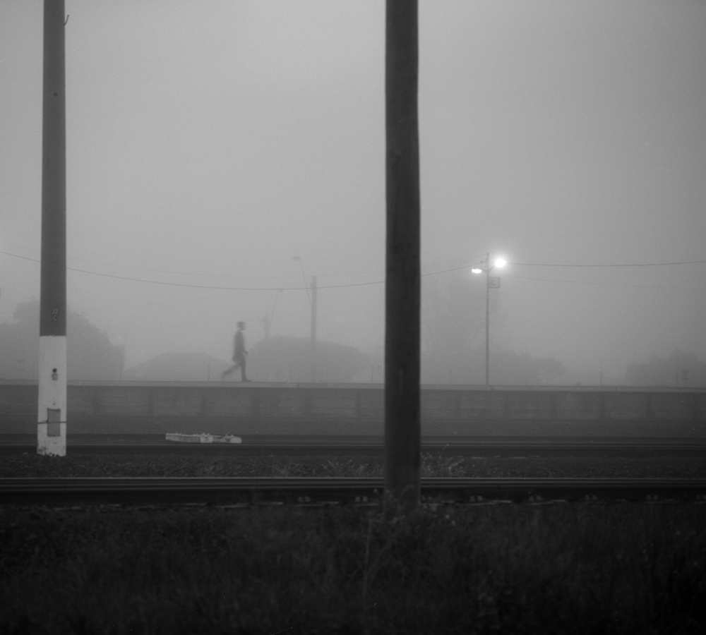 Commuter; North Shore station; Geelong; 2014