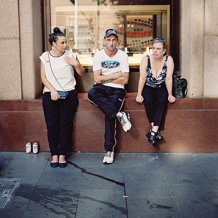 Sharon; Sydney Siege,Martin Place; 2014