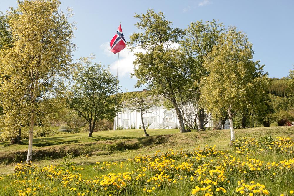 Sommer på Røkenes Gård
