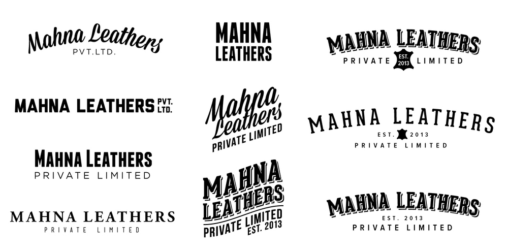 Initial Logo Concepts