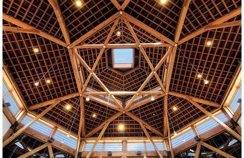 Commercial / Institutional Timberwork - Architectural Timber & Millwork, Inc.