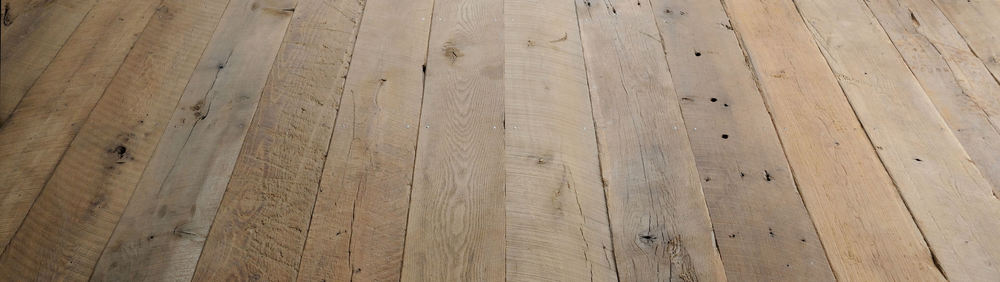 Original Face Antique White Oak Plank Floor