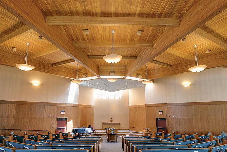 Long span glulam timbers