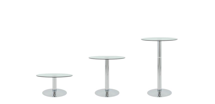 Auswechselbare Tischmodule