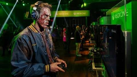 prosthetics created by G&S Effects. XBOX One promo