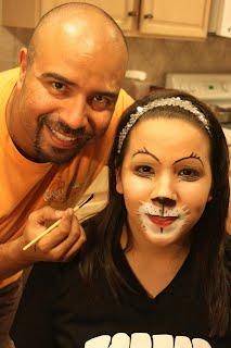 Makeup practice