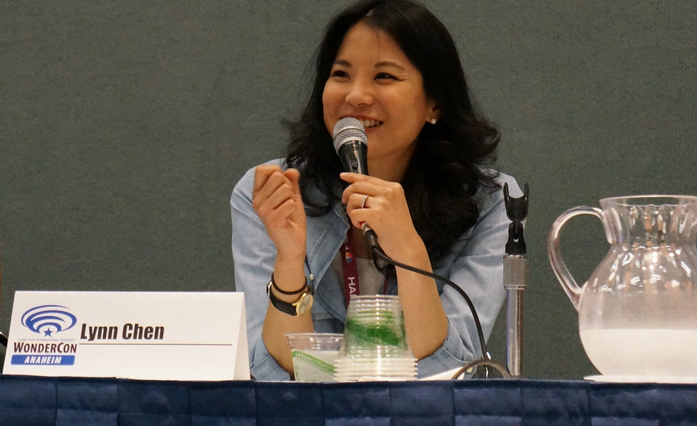 Speaking at  WonderCon  - Photo by  Dianne Garcia