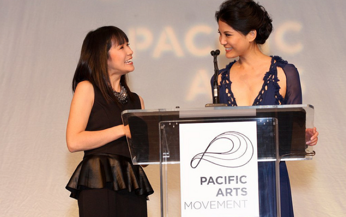 SDAFF Gala  with Top Chef's  Beverly Kim  (Photo by Jose R. Bacud)