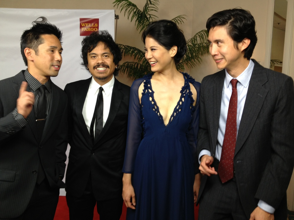 With  Parry Shen  and  The National Film Society  at the  SDAFF Gala