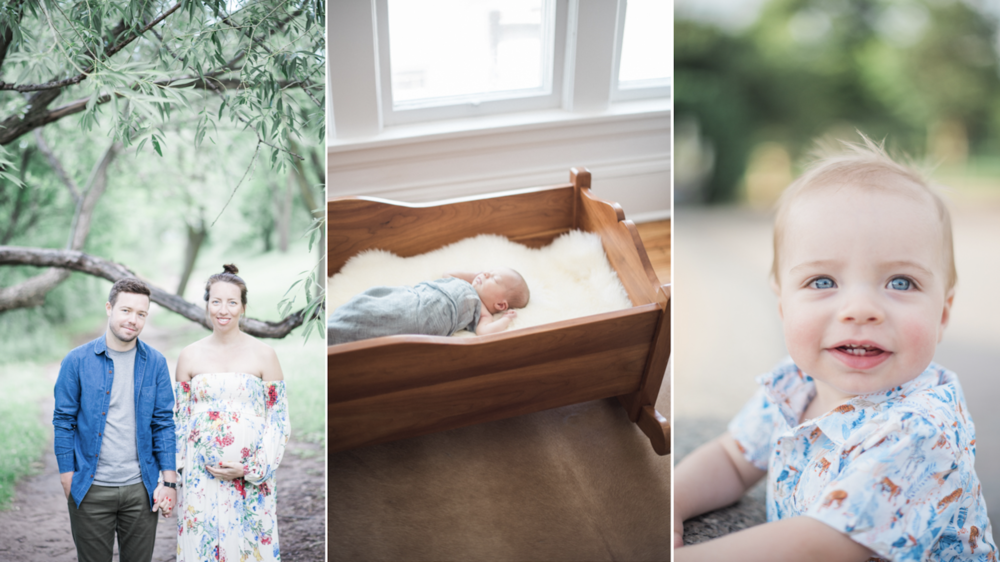 $1200 | Precious One Bundle - Maternity, Newborn, and 1 Year Old Collection BundleProfessionally Edited PhotographsPrivate Online Gallery + Download Link