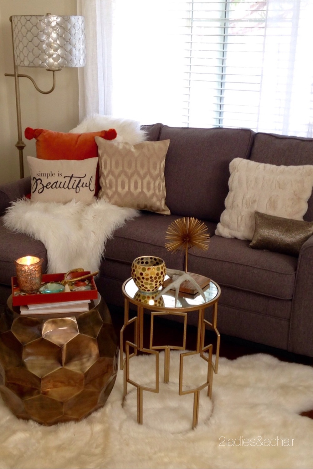 10 Large Living Room Ideas To Fall In Love With: 2 Ladies & A Chair