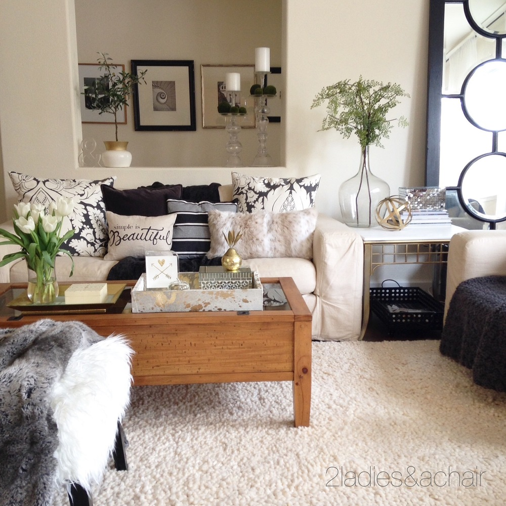 how to decorate with texture u2014 2 ladies u0026 a chair