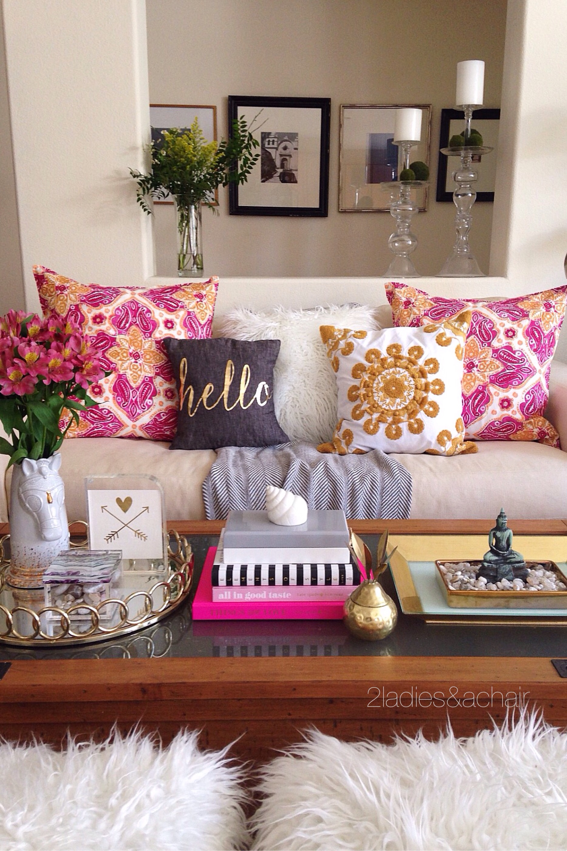 Decorating With Bright Colors 2 Ladies A Chair