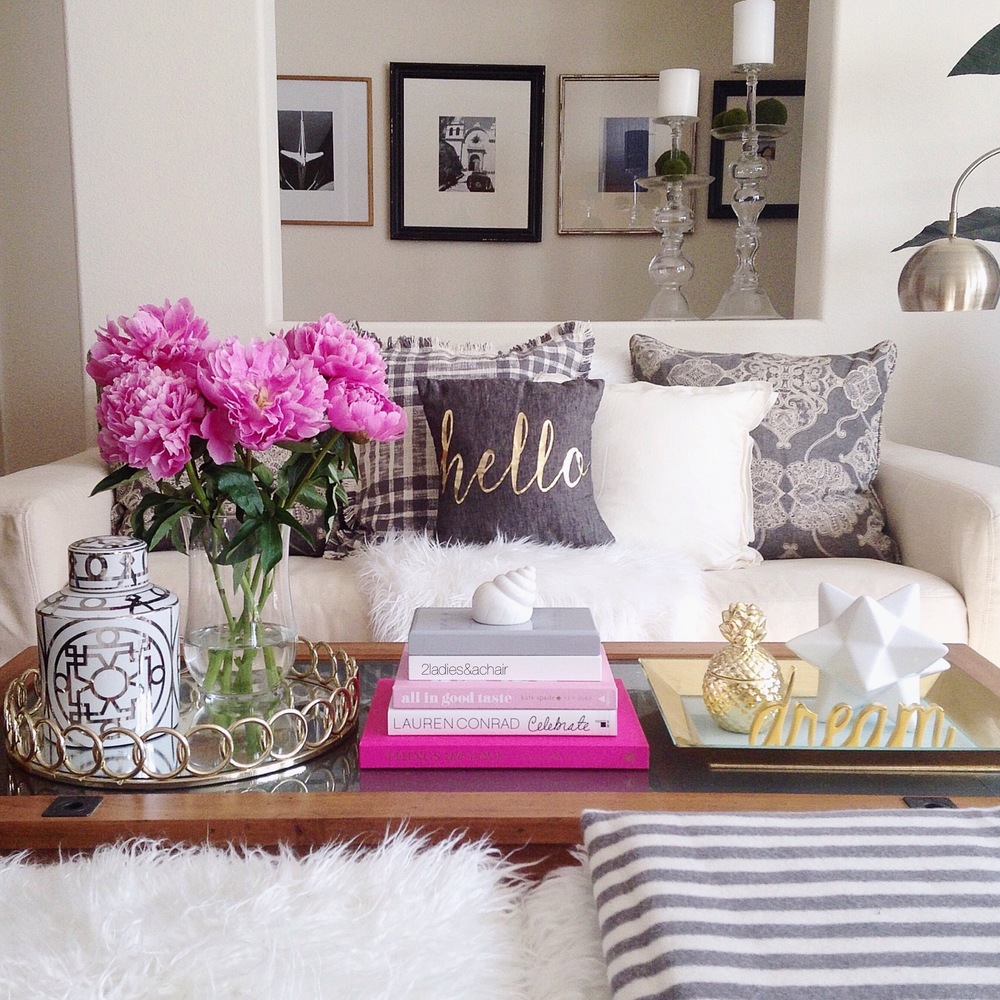 5 Useful Tips When Decorating Your Coffee Table — 2 Ladies ...