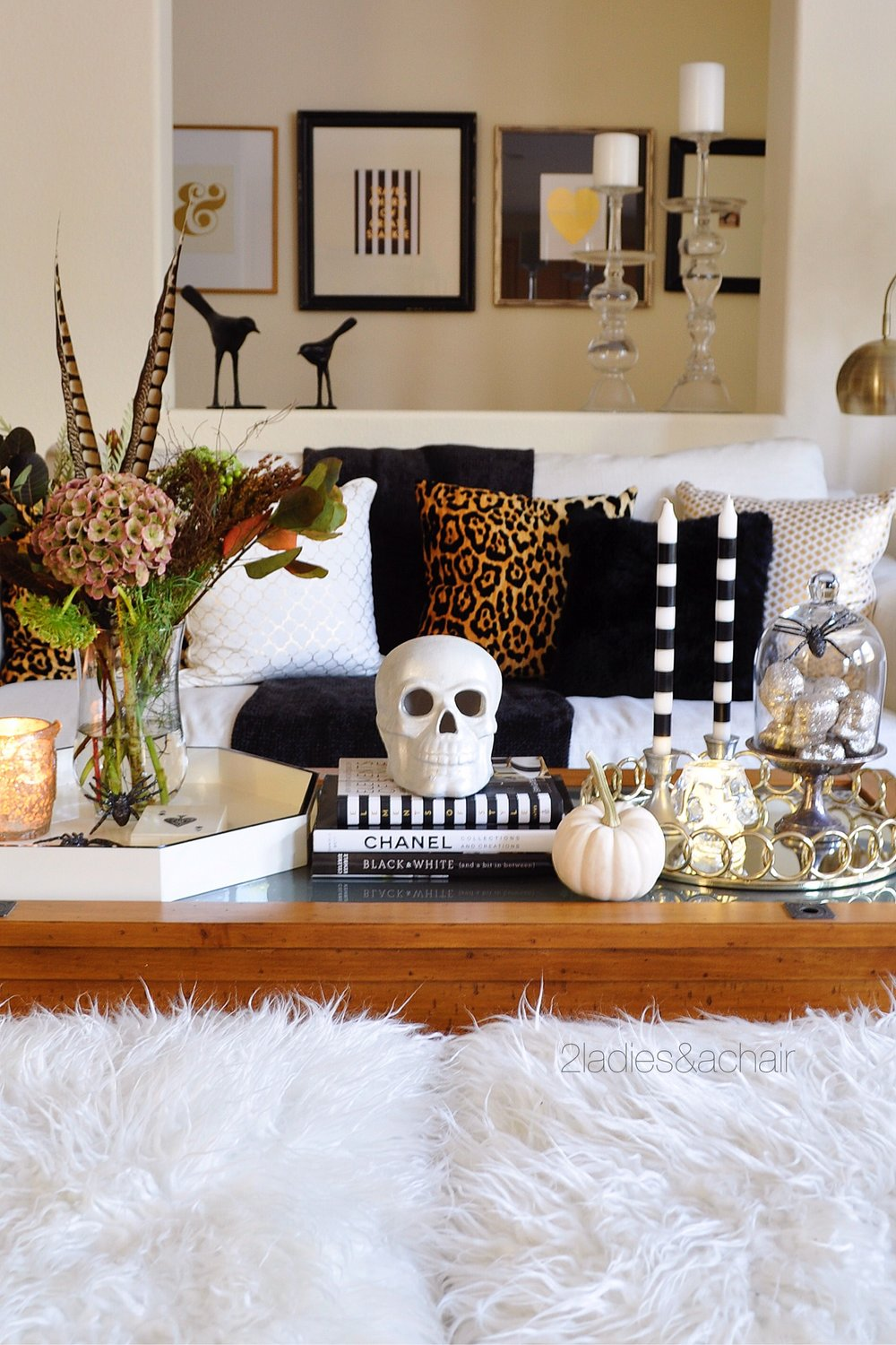 Styling A Coffee Table Halloween 2 Ladies A Chair