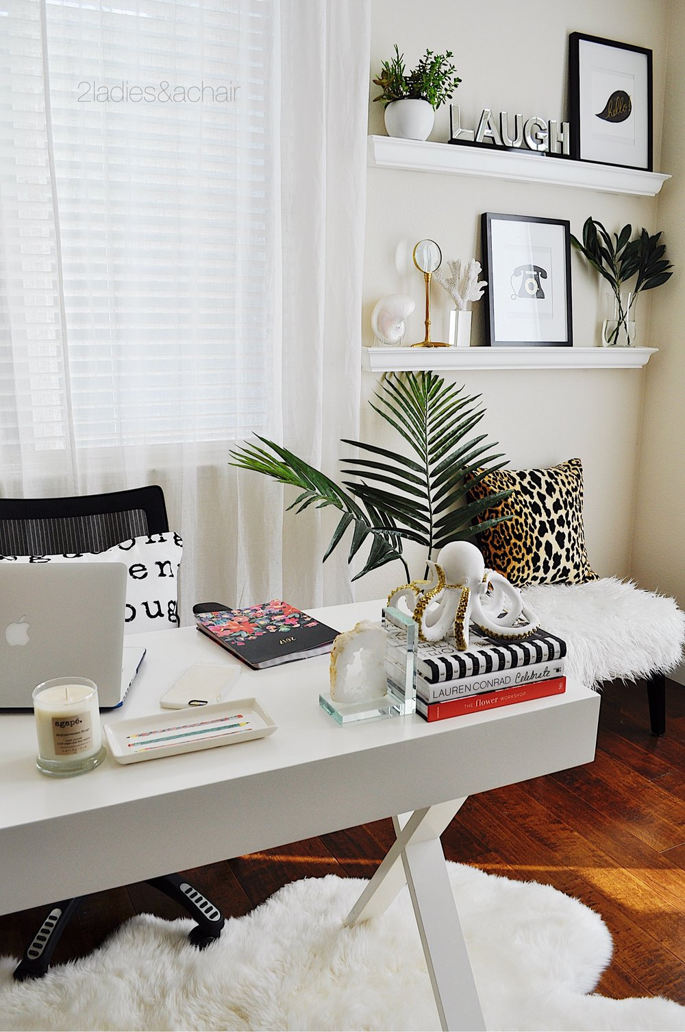 Home Office Refreshed — 2 Ladies & A Chair