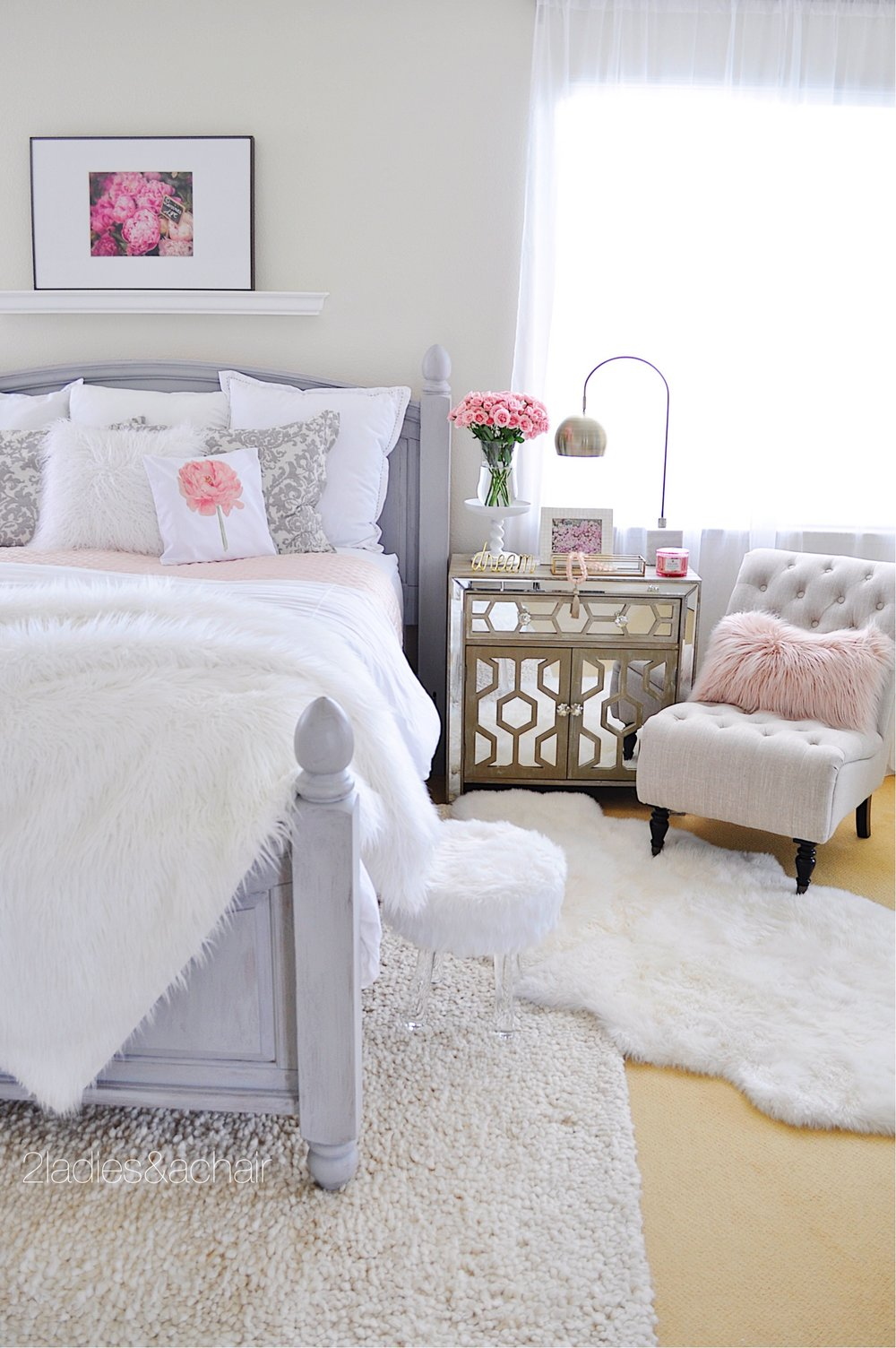 Bedroom Decorating Ideas: Before and After — 2 Ladies & A Chair