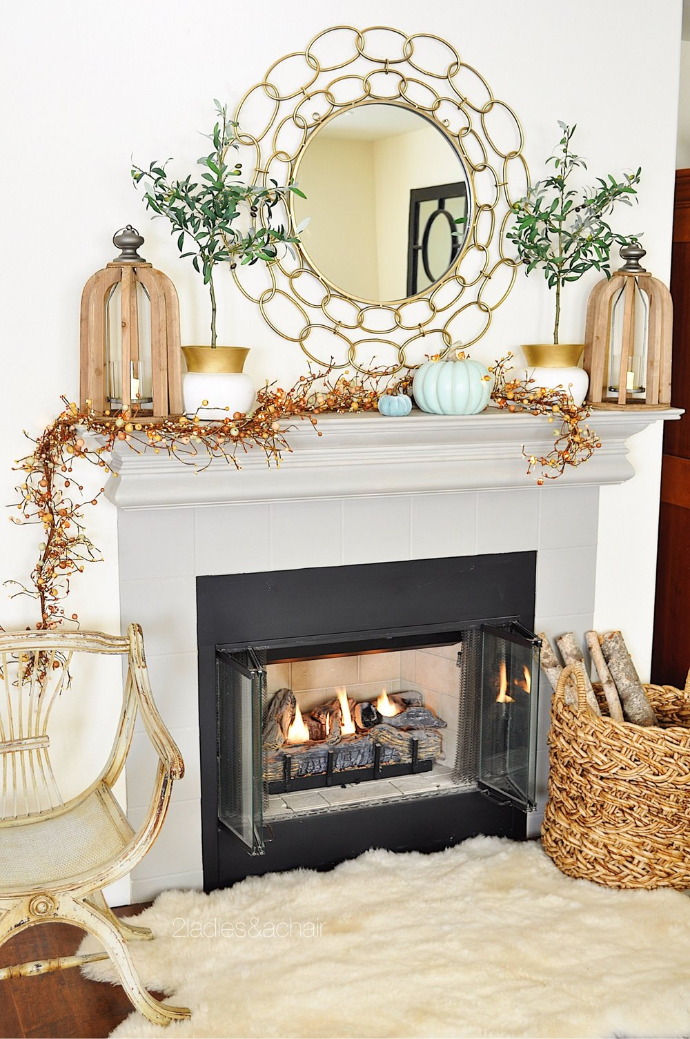 decorate the fall mantel FullSizeRender(71).jpg
