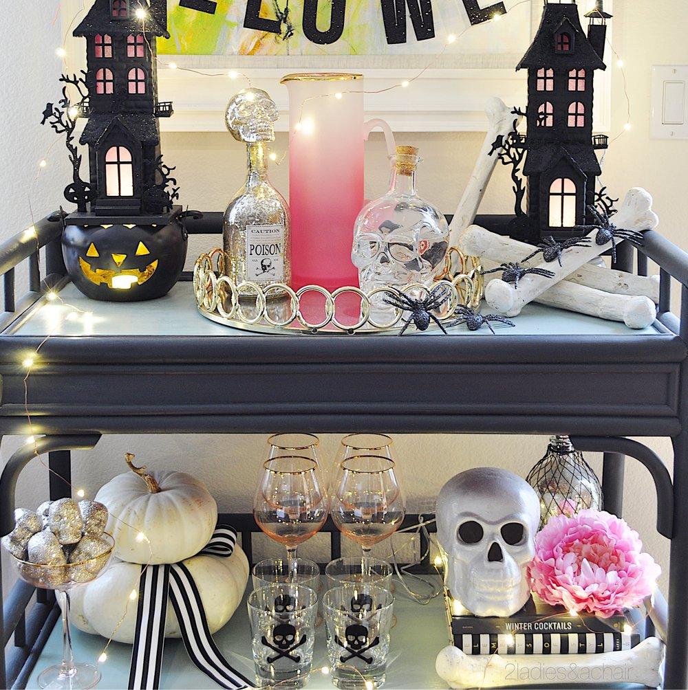 bar cart decoratring ideas for halloween IMG_8292.JPG