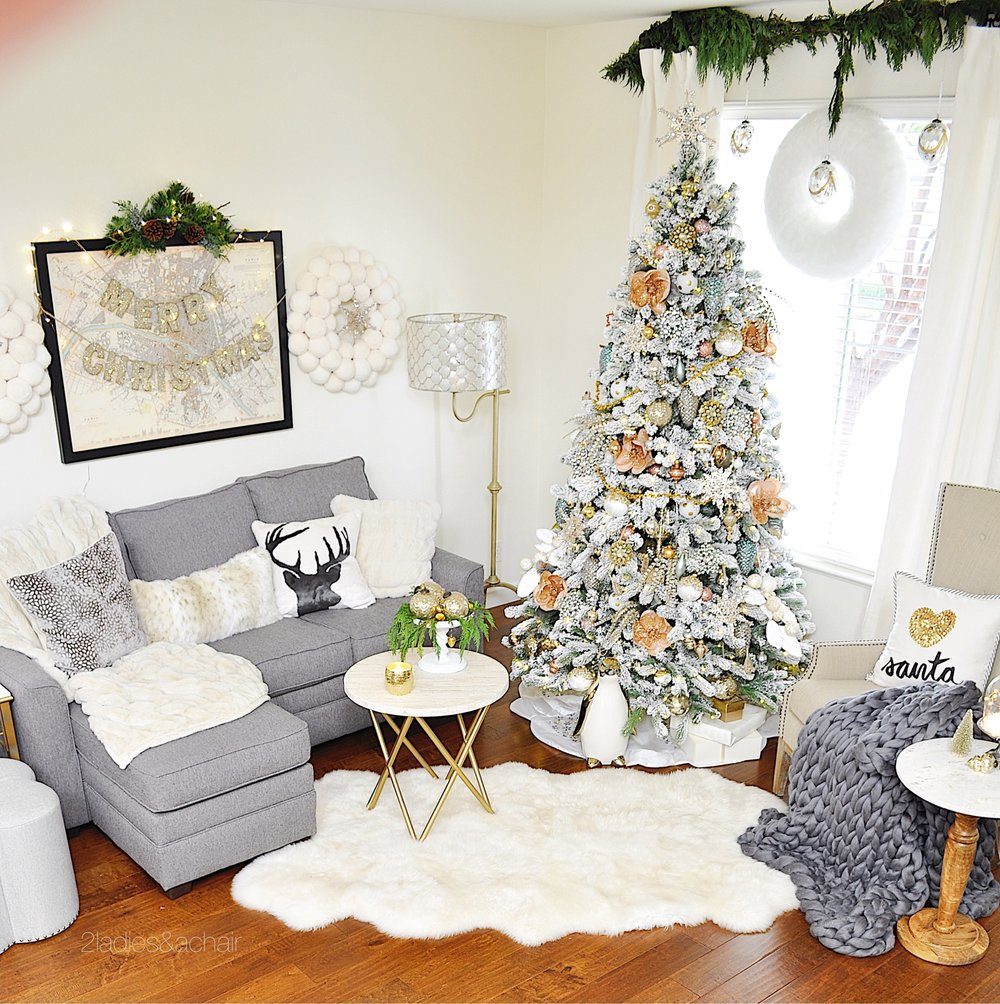 92+ Xmas Home Decorations - Xmas Interior Decorating Ideas ...