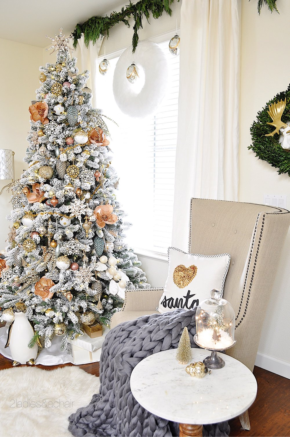 Christmas Home Decorating Ideas For A Beautiful Holiday 2 Ladies