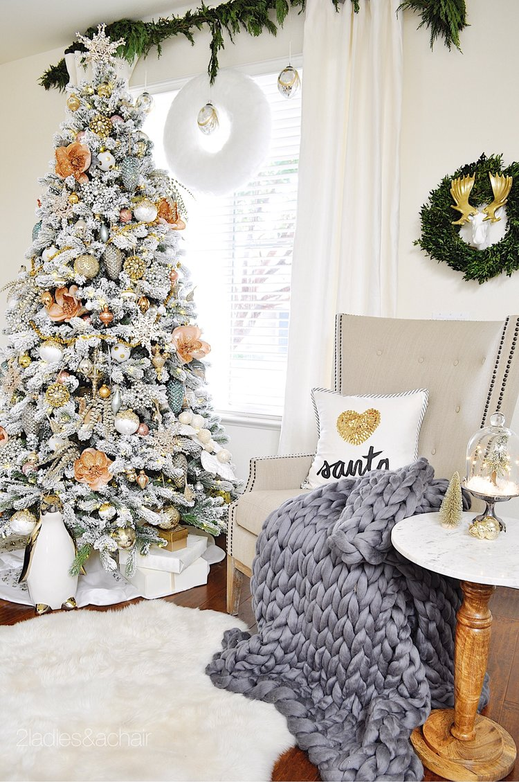 Christmas Home Decorating Ideas For A Beautiful Holiday — 2 Ladies ...