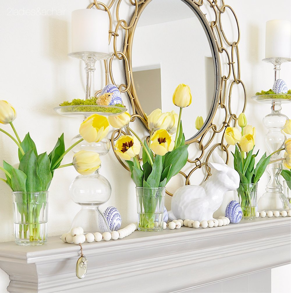 easter mantel decor IMG_1892.JPG