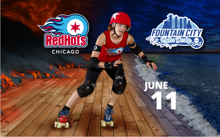 Red Hots vs Fountain City Roller Derby