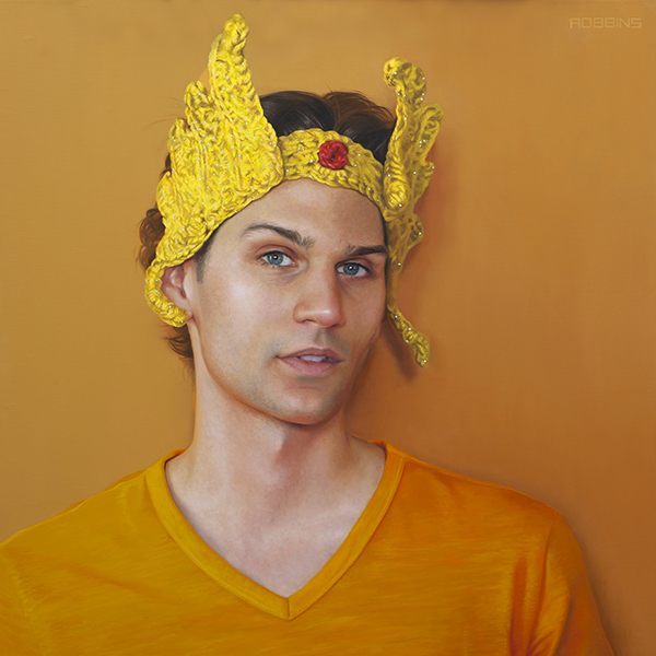 "She-Ra  - 24"" x 24"" - Oil on linen - Available"