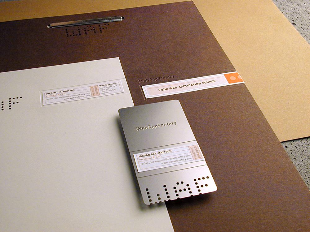 WebAppFactory identity system / 2000