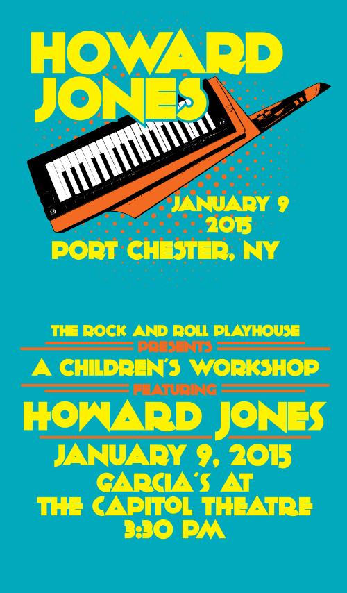 Howard Jones Workshop