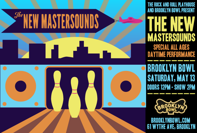 The New Mastersounds at Brooklyn Bowl