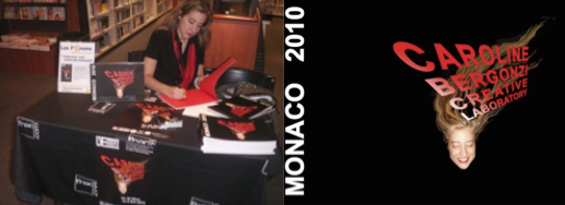 65 pages of artwork, paintings and sculptures... Book signing at LA FNAC MONACO