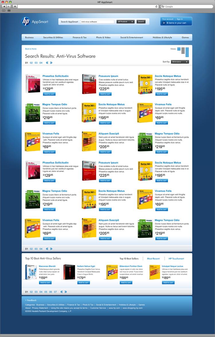 HP AppSmart Website — Elgan Wade Lance