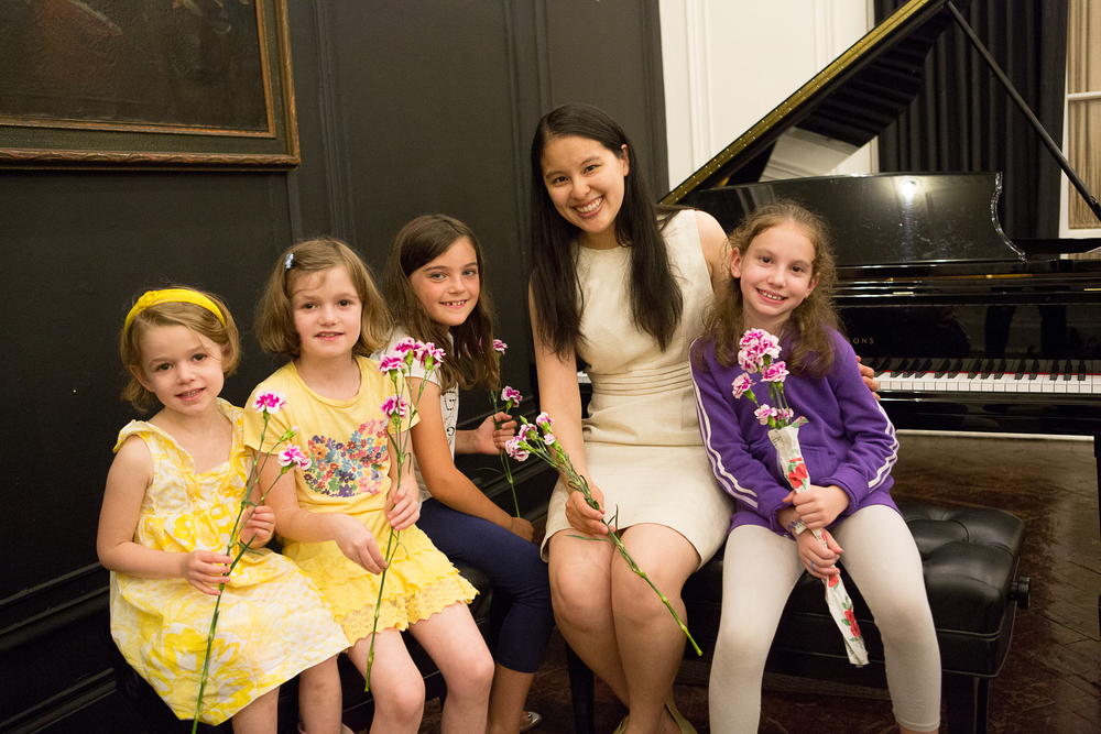 June 10, 2013 Students at Steinway Hall in NYC