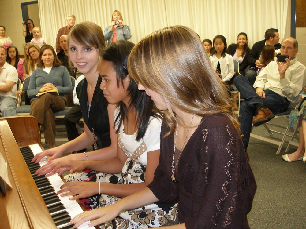 Student piano trio!