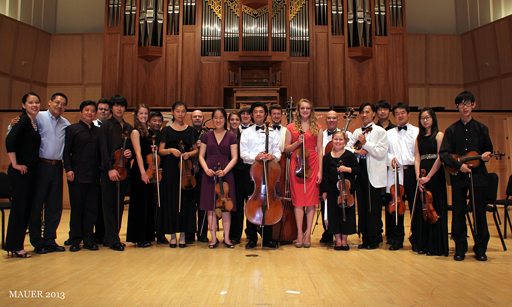 3rd Stradivarius International Violin Competition & Advanced String Camp concert at Libby Gardner Hall, University of Utah School of Music, Salt Lake City. July 12, 2013.