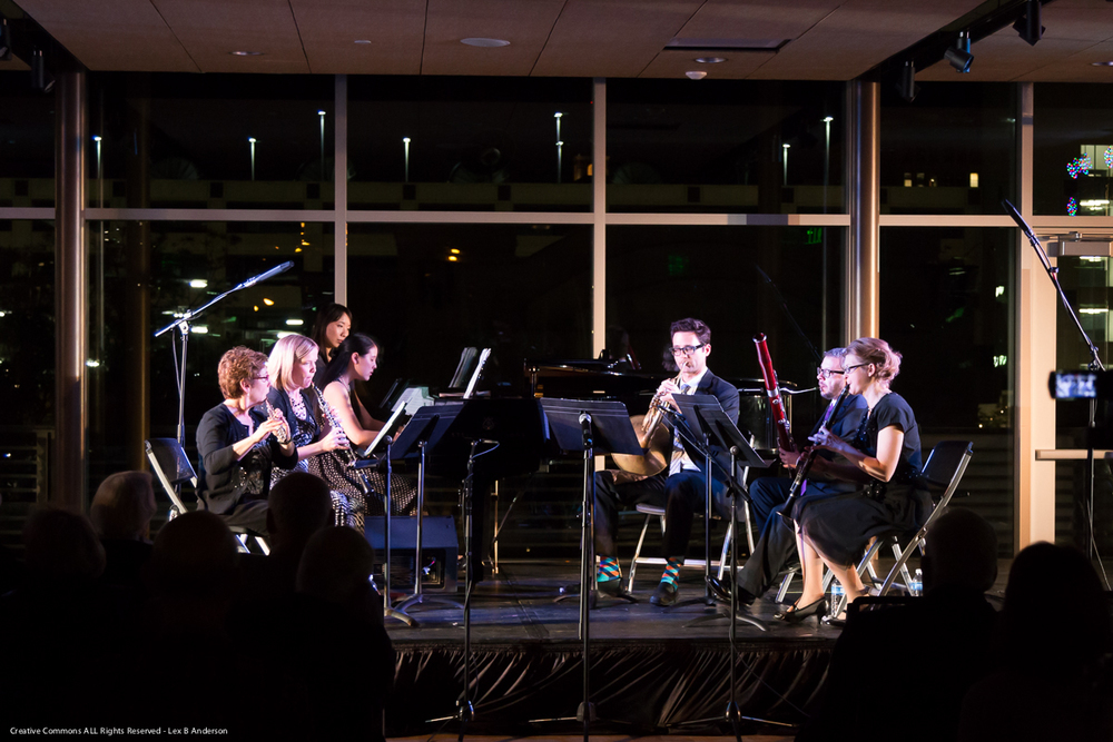 Aspen Winds at Gallivan Center (May 2014)