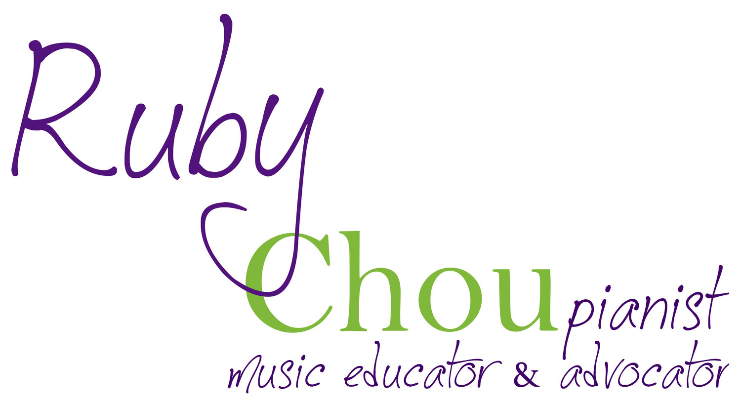Ruby Chou, pianist
