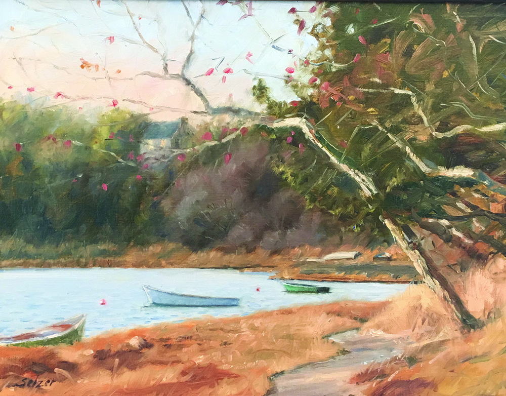 Mill Pond, Orleans  11 x 14 Oil    $900