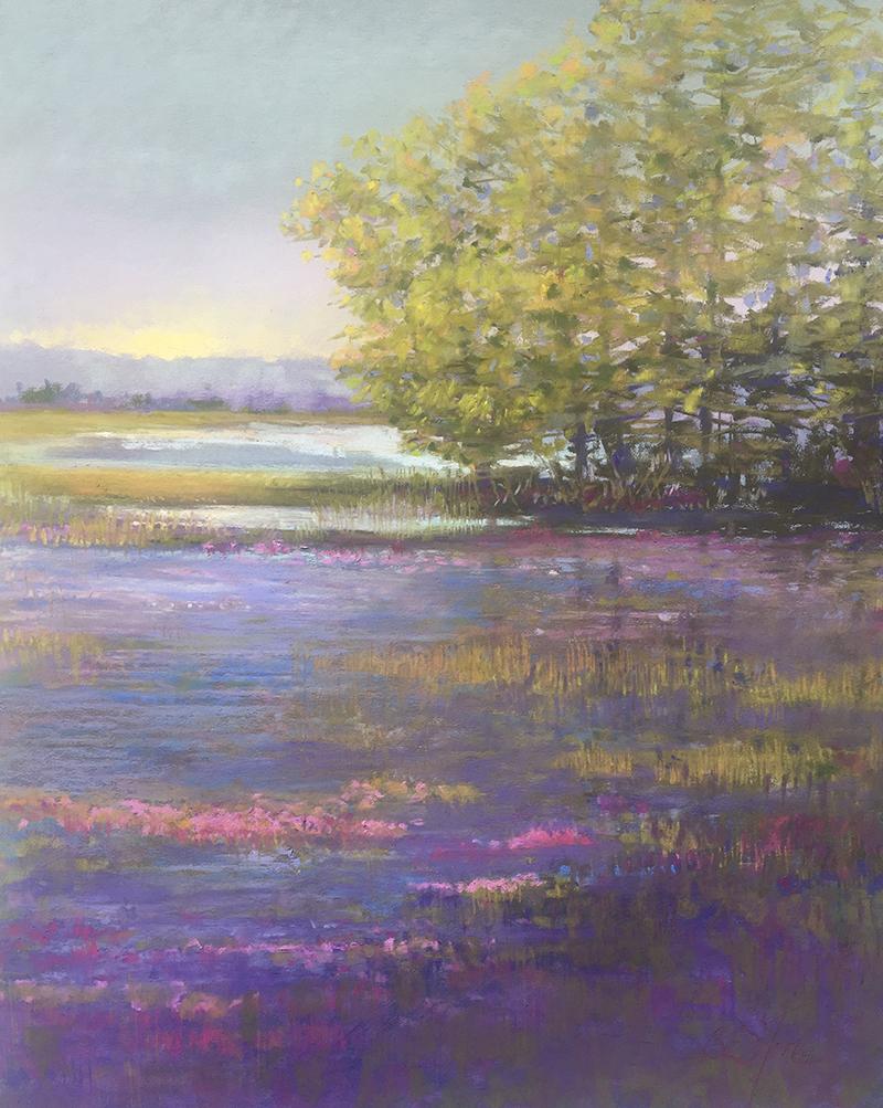 Sunrise Serenity   16 x 20 Pastel  / $1200