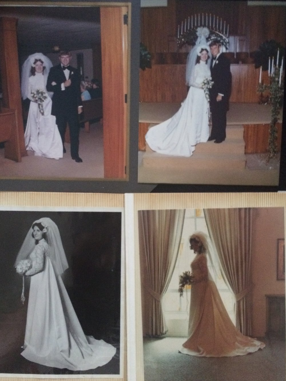 My parents wedding day - August 13, 1972