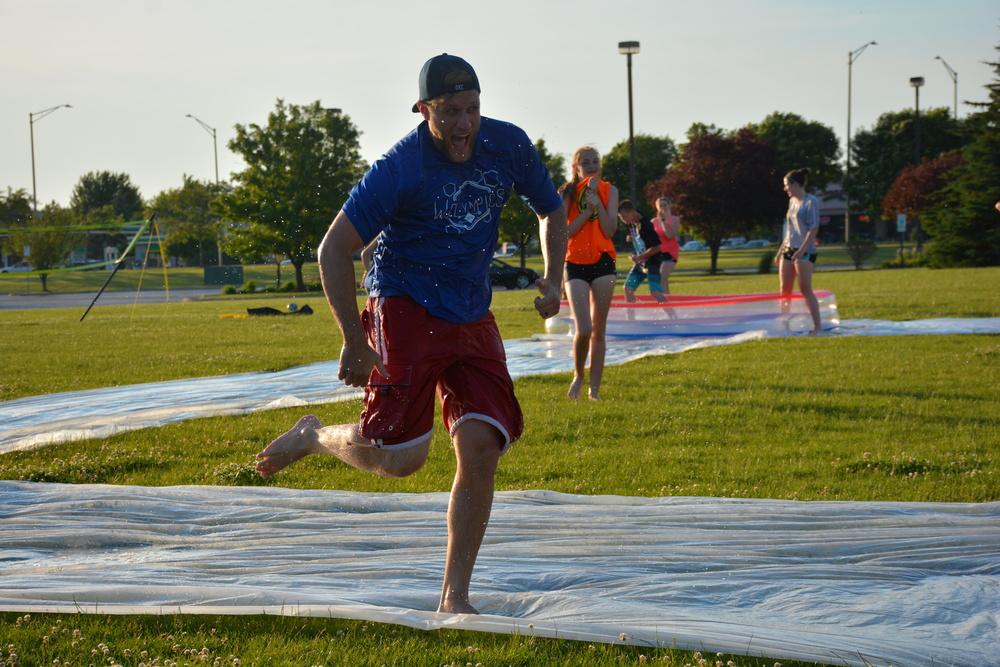 Slip-N-Slide Kickball 2016